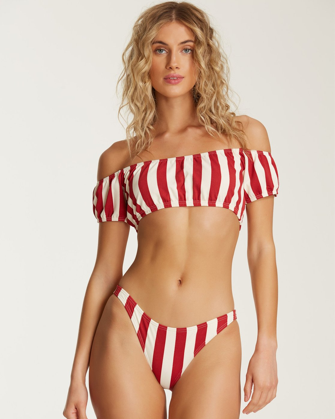 1e90882a4b4 2 Sunset Stripe Tropic Bikini Bottom White XB62SBSU Billabong