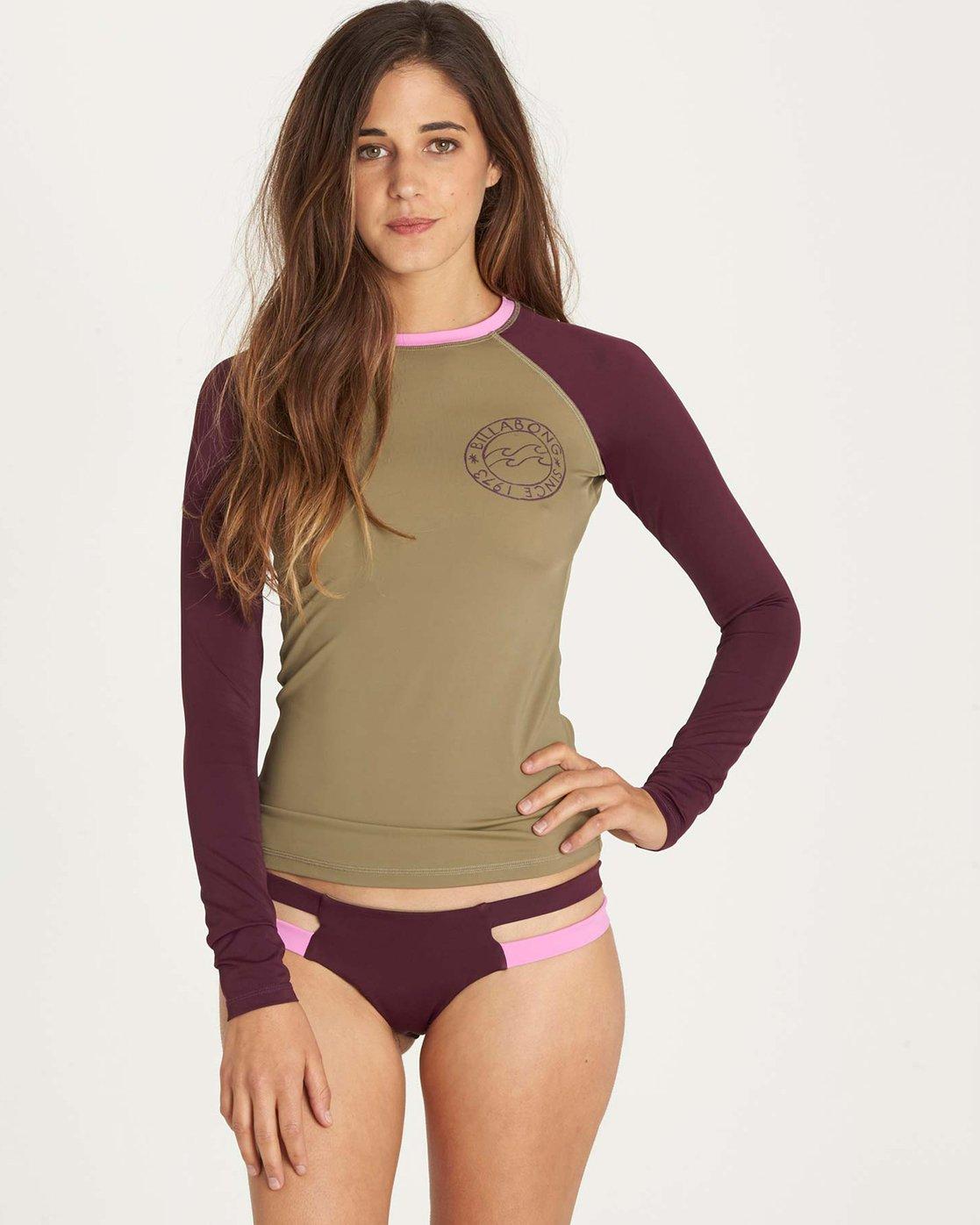 Billabong Womens Surf Capsule Long Sleeve Rashguard