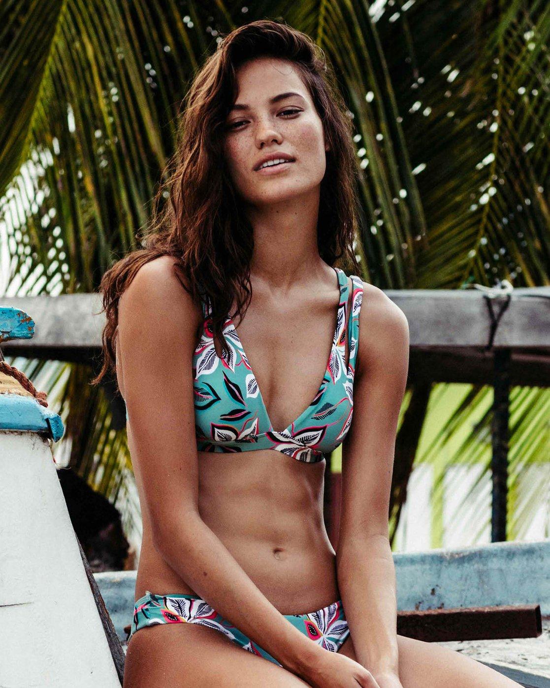 d0f1afa0ed4987 0 Surf Beat Banded Tri Bikini Top XT18PBSU Billabong