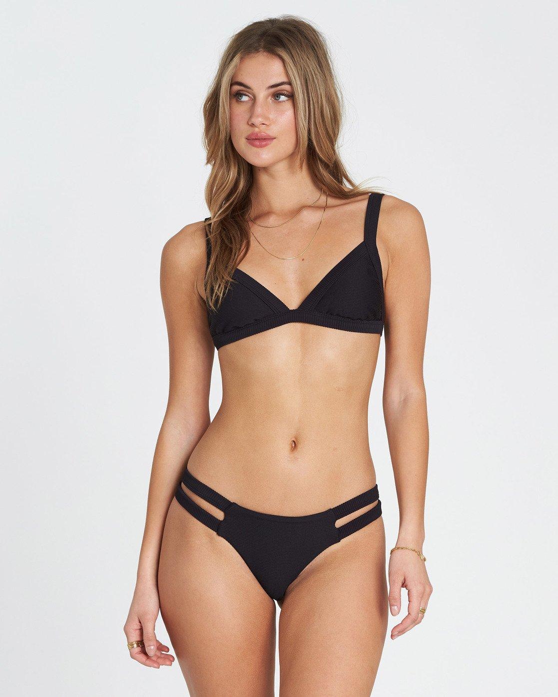 454fce04a1691 0 Tanlines Fixed Tri Bikini Top Black XT20NBTA Billabong