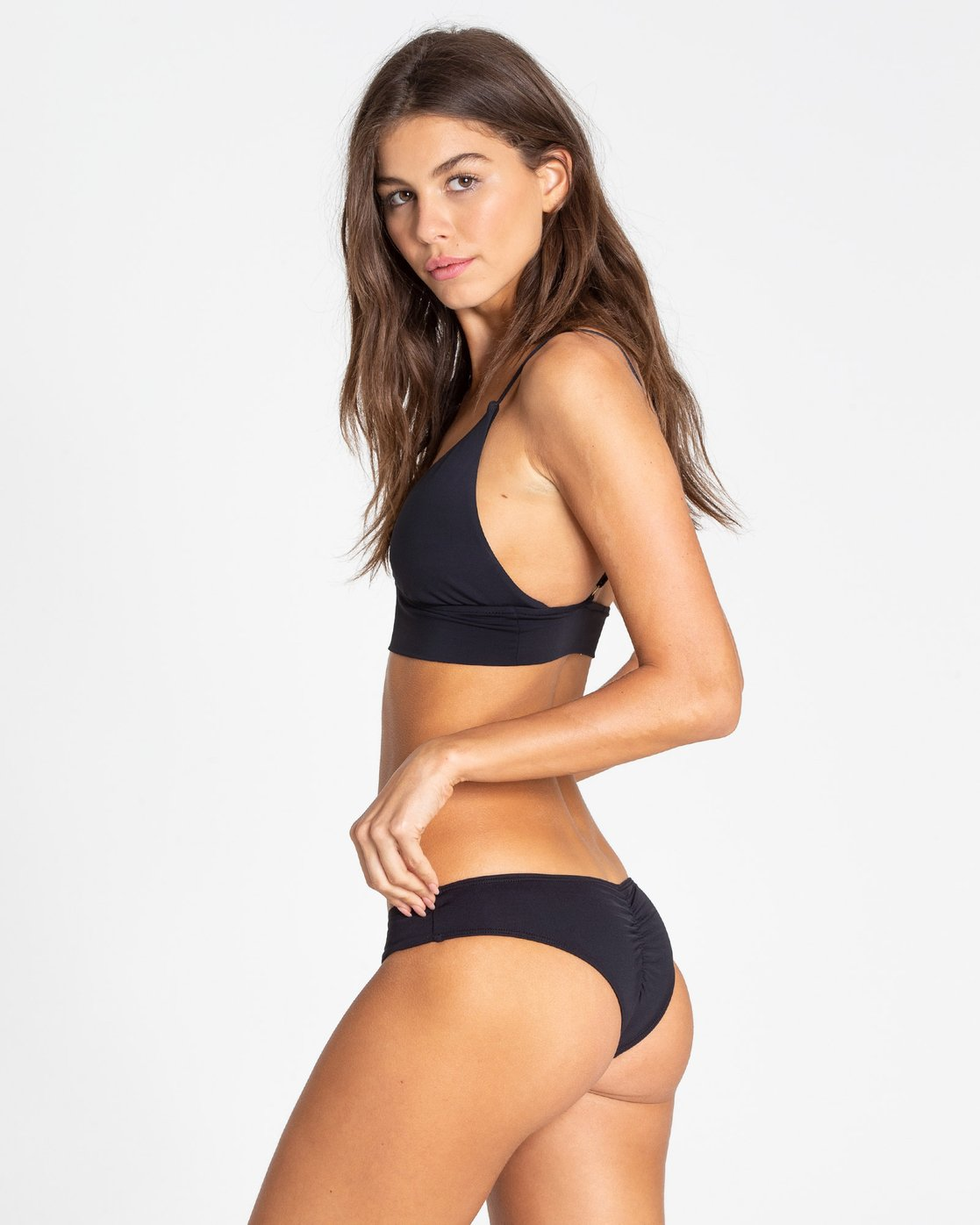 5d8297ee25 1 Sol Searcher V Cami Bikini Top Black XT70TBSO Billabong