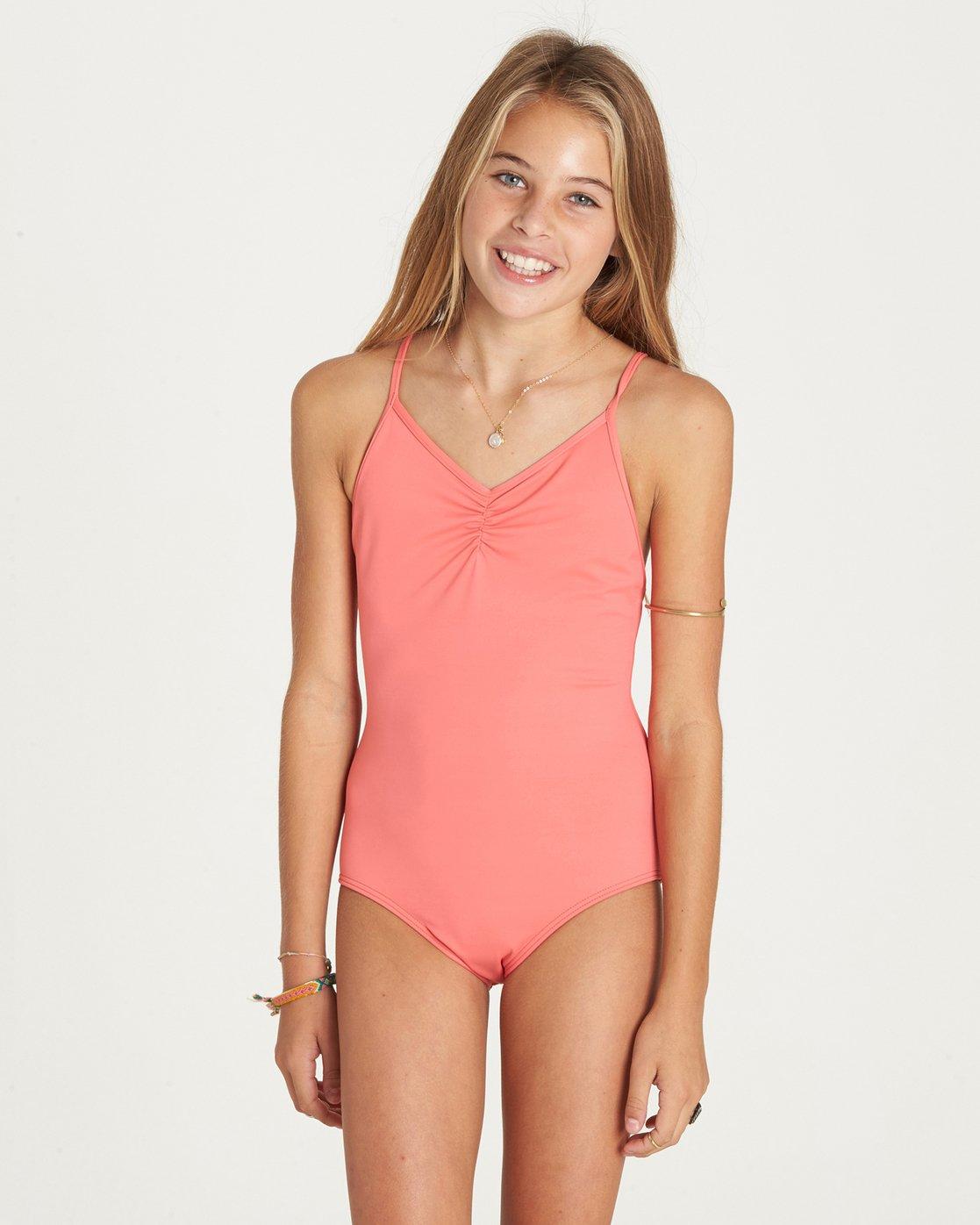 51412d16dc491 0 Girls' Sol Searcher One Piece Swim Y101LSOL Billabong