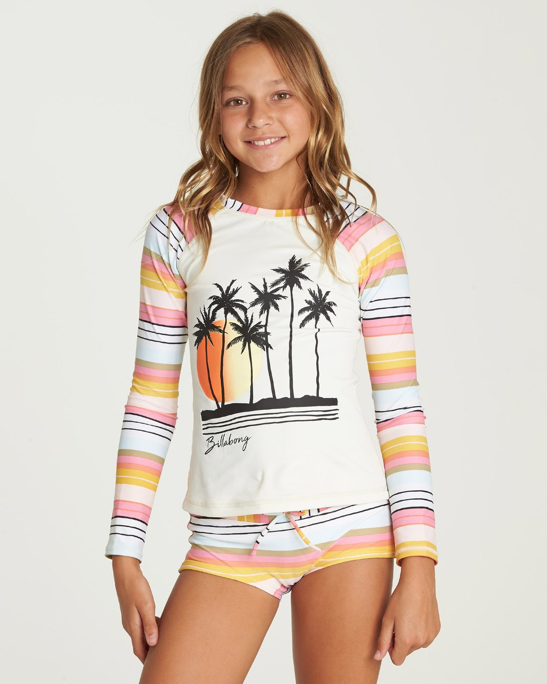 Billabong Girls Big Sunny Song One Piece Swimsuit