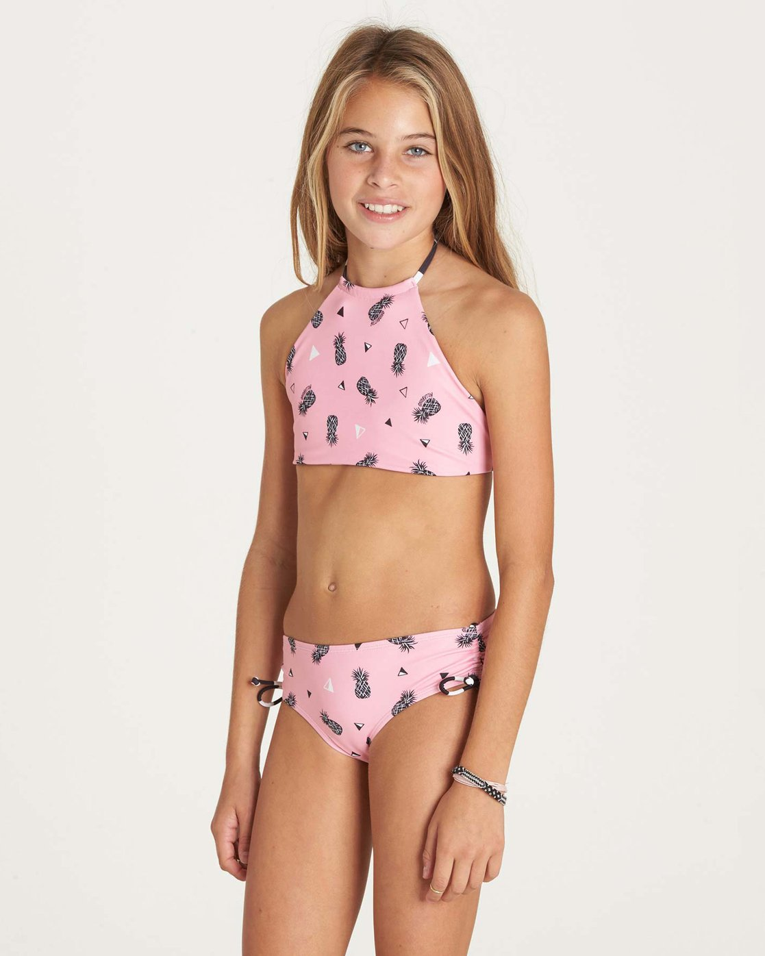 15f9b95e160e0 1 Girls' Beach Bandit High Neck Swim Set Y212LBEA Billabong