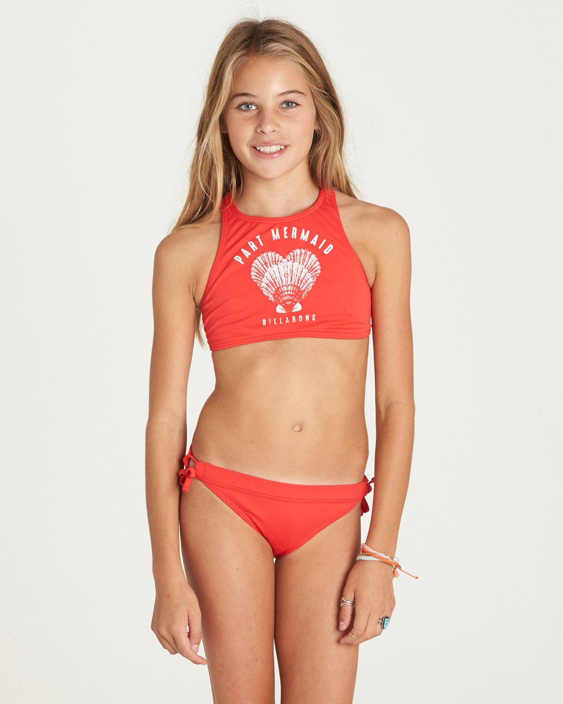 Billabong Girls Girls Sol Searcher High Neck Swim Set