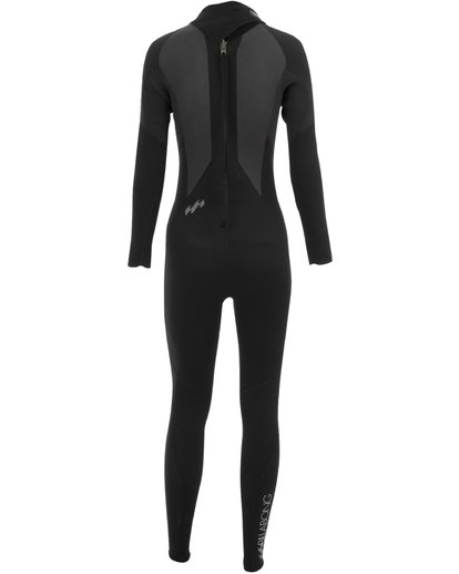 1 3/2mm Launch - Long Sleeves Steamer Wetsuit for Women Black 043G01BIPP Billabong