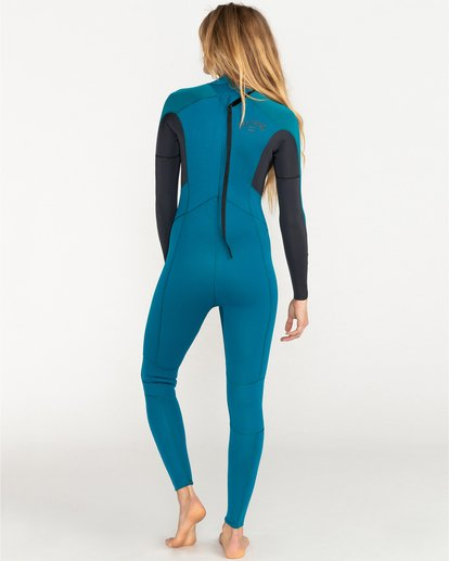 1 Launch 3/2mm Bz GBS - Back-Zip-Neoprenanzug für Frauen Blau 043G18BIP0 Billabong