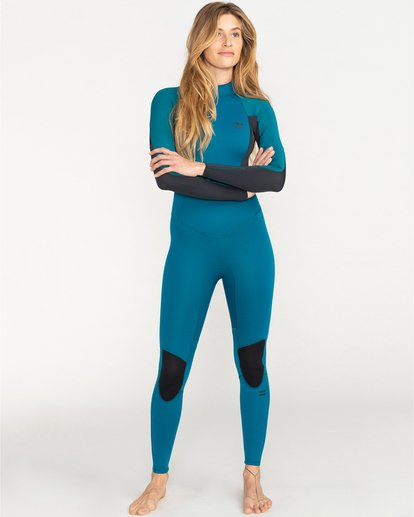 0 Launch 3/2mm Bz GBS - Back-Zip-Neoprenanzug für Frauen Blau 043G18BIP0 Billabong
