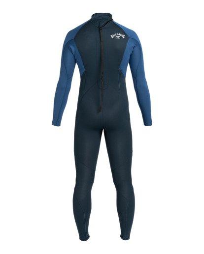 1 Intruder 3/2mm Intrdr Bz GBS - Back Zip Wetsuit for Men Blue 043M18BIP0 Billabong