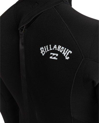 3 Intruder 3/2mm Intrdr Bz GBS - Back Zip Wetsuit for Men Black 043M18BIP0 Billabong