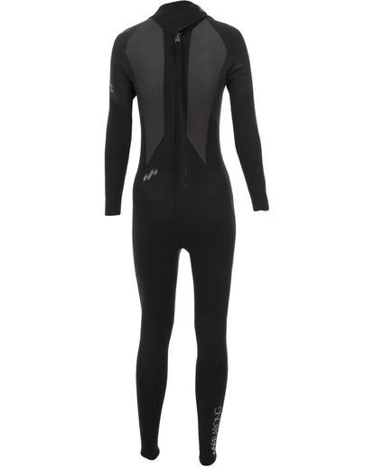 1 4/3mm Launch - Long Sleeves Steamer Wetsuit for Women Black 044G01BIPP Billabong