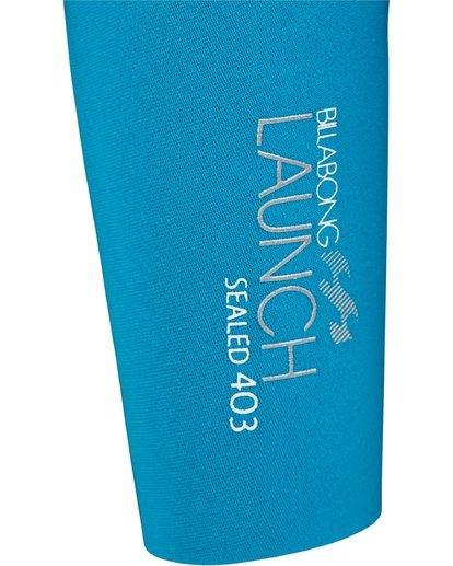 2 4/3mm Launch - Langärmeliger Steamer Neoprenanzug für Frauen Schwarz 044G01BIPP Billabong