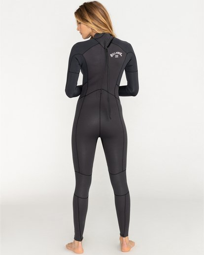 1 Launch 4/3mm Launch Bz GBS - Back Zip Wetsuit for Women  044G18BIP0 Billabong