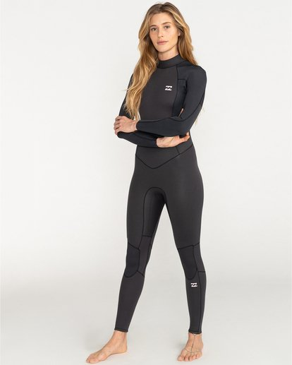 0 Launch 4/3mm Launch Bz GBS - Back Zip Wetsuit for Women  044G18BIP0 Billabong