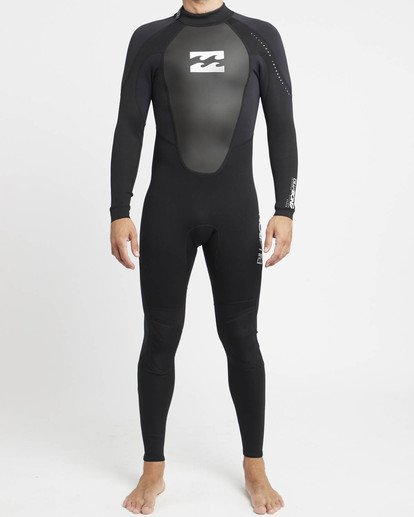 0 Intruder 4/3mm GBS - Steamer Wetsuit for Men Black 044M15BIPP Billabong