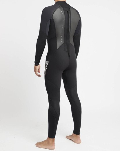 2 Intruder 4/3mm GBS - Steamer Wetsuit for Men Black 044M15BIPP Billabong