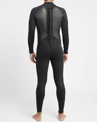 3 Intruder 4/3mm GBS - Steamer Wetsuit for Men Black 044M15BIPP Billabong
