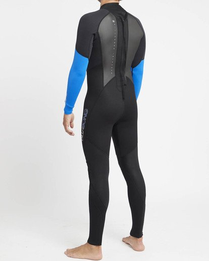 2 Intruder 4/3mm GBS - Steamer Wetsuit for Men Blue 044M15BIPP Billabong