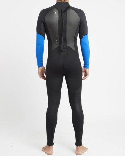 3 Intruder 4/3mm GBS - Steamer Wetsuit for Men Blue 044M15BIPP Billabong