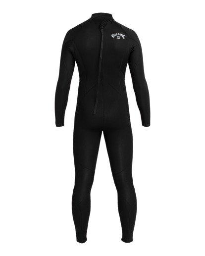 1 Intruder 4/3mm Intrdr Bz GBS - Back Zip Wetsuit for Men Black 044M18BIP0 Billabong