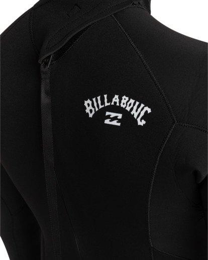 3 Intruder 4/3mm Intrdr Bz GBS - Back Zip Wetsuit for Men Black 044M18BIP0 Billabong