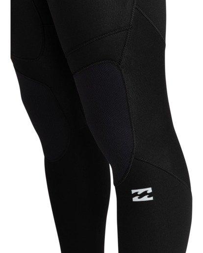 2 Intruder 4/3mm Intrdr Bz GBS - Back Zip Wetsuit for Men Black 044M18BIP0 Billabong