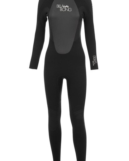 0 5/4mm Launch - Long Sleeves Steamer Wetsuit for Women Black 045G01BIPP Billabong
