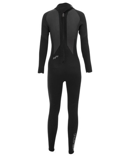1 5/4 Launch Series Back Zip Fullsuit Schwarz 045G01BIPP Billabong