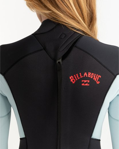 4 Launch 5/4mm Launch Bz GBS - Back Zip Wetsuit for Women Grey 045G18BIP0 Billabong