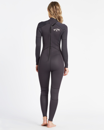 3 Launch 5/4mm Launch Bz GBS - Back Zip Wetsuit for Women  045G18BIP0 Billabong