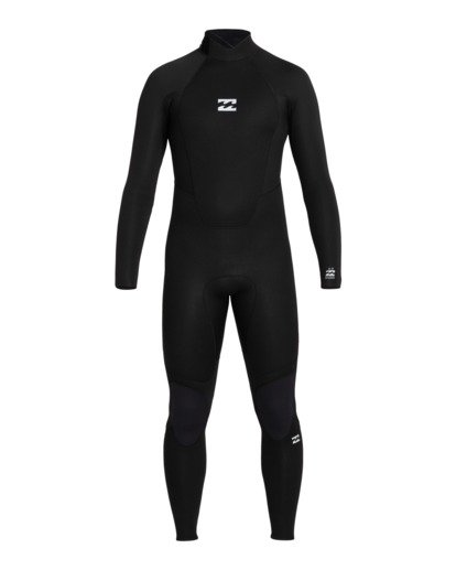 0 Intruder 5/4mm Intrdr Bz GBS - Back Zip Wetsuit for Men Black 045M18BIP0 Billabong