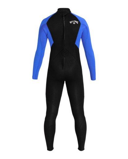 1 Intruder 5/4mm Intrdr Bz GBS - Back Zip Wetsuit for Men Blue 045M18BIP0 Billabong
