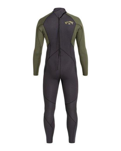 1   Intruder 5/4mm Intrdr Bz GBS - Back Zip Wetsuit for Men   Black 045M18BIP0 Billabong