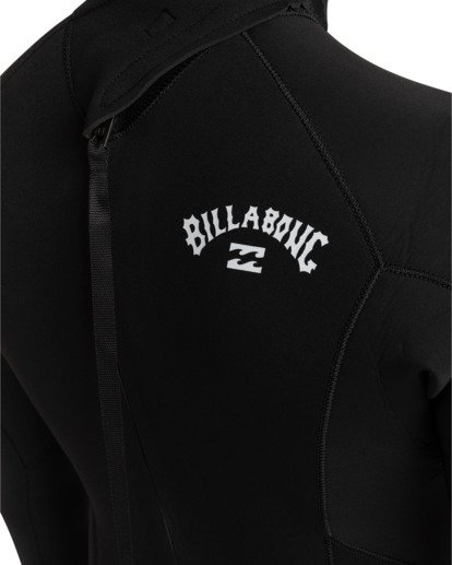 3 Intruder 5/4mm Intrdr Bz GBS - Back Zip Wetsuit for Men Black 045M18BIP0 Billabong