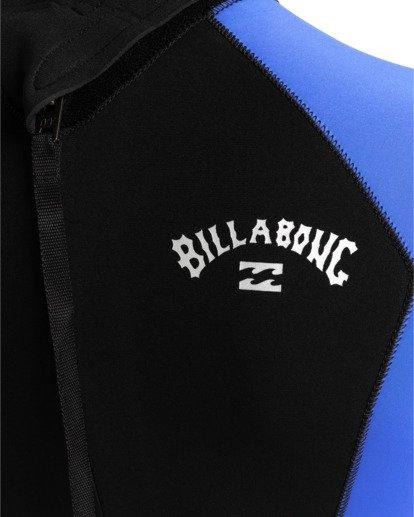 3 Intruder 5/4mm Intrdr Bz GBS - Back Zip Wetsuit for Men Blue 045M18BIP0 Billabong