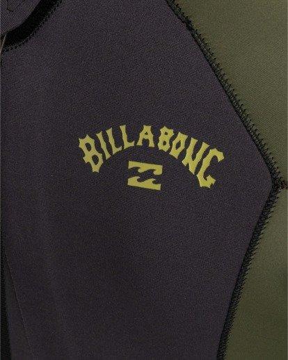 3   Intruder 5/4mm Intrdr Bz GBS - Back Zip Wetsuit for Men   Black 045M18BIP0 Billabong