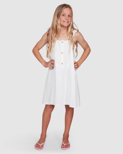 4 Clover Dress White 5503461 Billabong