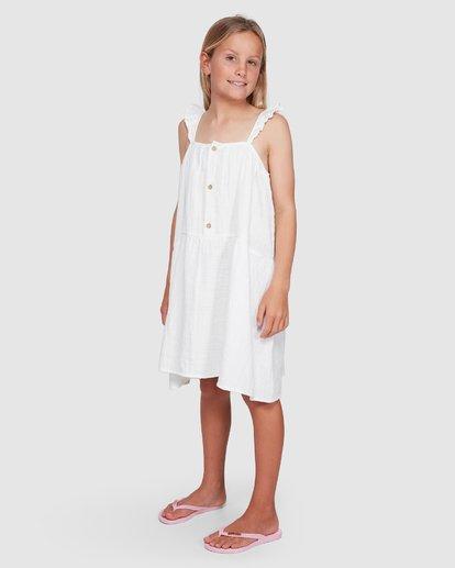1 Clover Dress White 5503461 Billabong