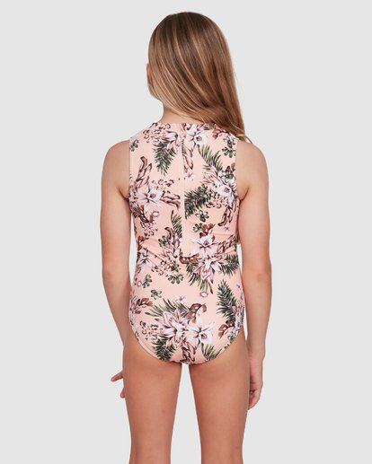 2 Summer Jam One Piece Pink 5503702 Billabong