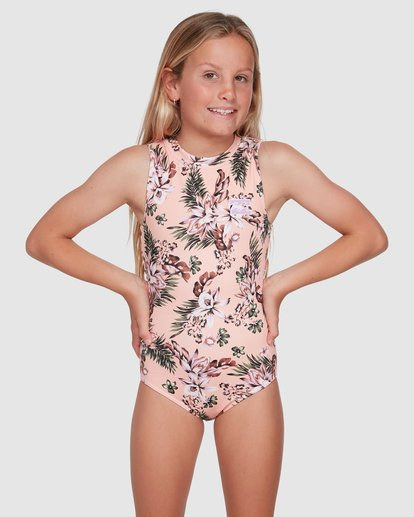 0 Summer Jam One Piece Pink 5503702 Billabong