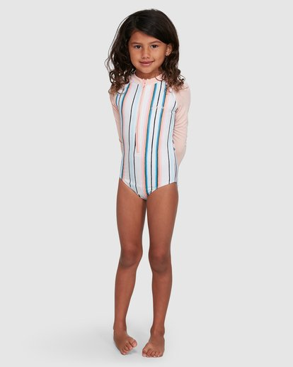 4 You Know It One Piece Sunshirt White 5503713 Billabong