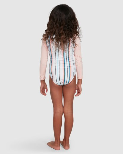 2 You Know It One Piece Sunshirt White 5503713 Billabong