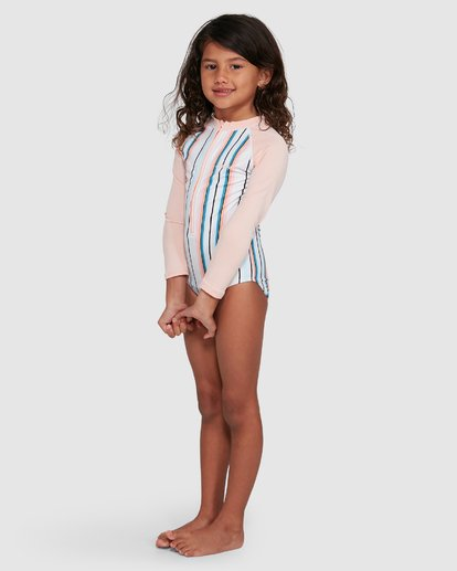 1 You Know It One Piece Sunshirt White 5503713 Billabong