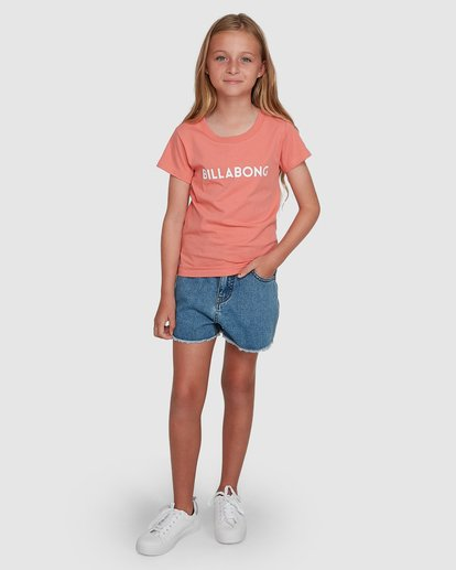 6 Dancer Short Sleeve Tee Orange 5504001 Billabong