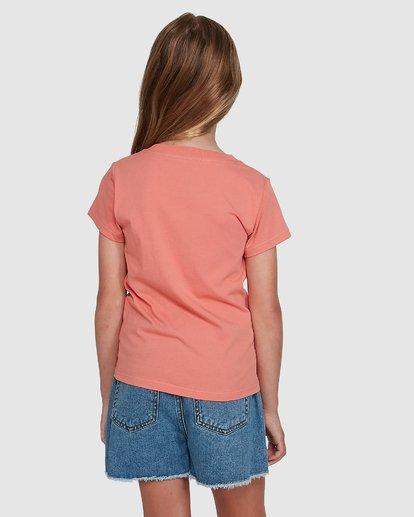 3 Dancer Short Sleeve Tee Orange 5504001 Billabong