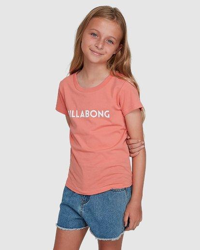 2 Dancer Short Sleeve Tee Orange 5504001 Billabong