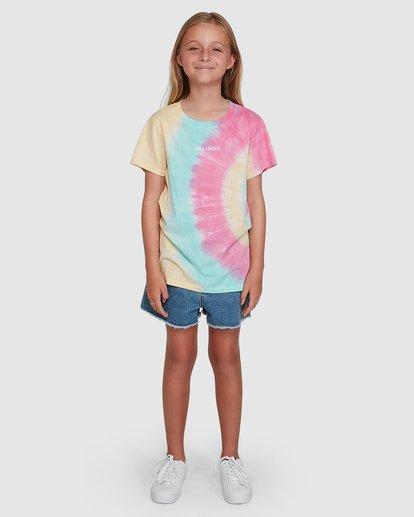 6 Tie Dye Love Short Sleeve Tee Grey 5504002 Billabong