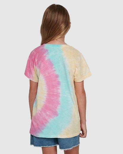 3 Tie Dye Love Short Sleeve Tee Grey 5504002 Billabong