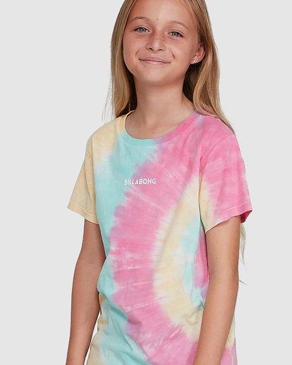 4 Tie Dye Love Short Sleeve Tee Grey 5504002 Billabong