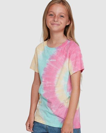 0 Tie Dye Love Short Sleeve Tee Grey 5504002 Billabong